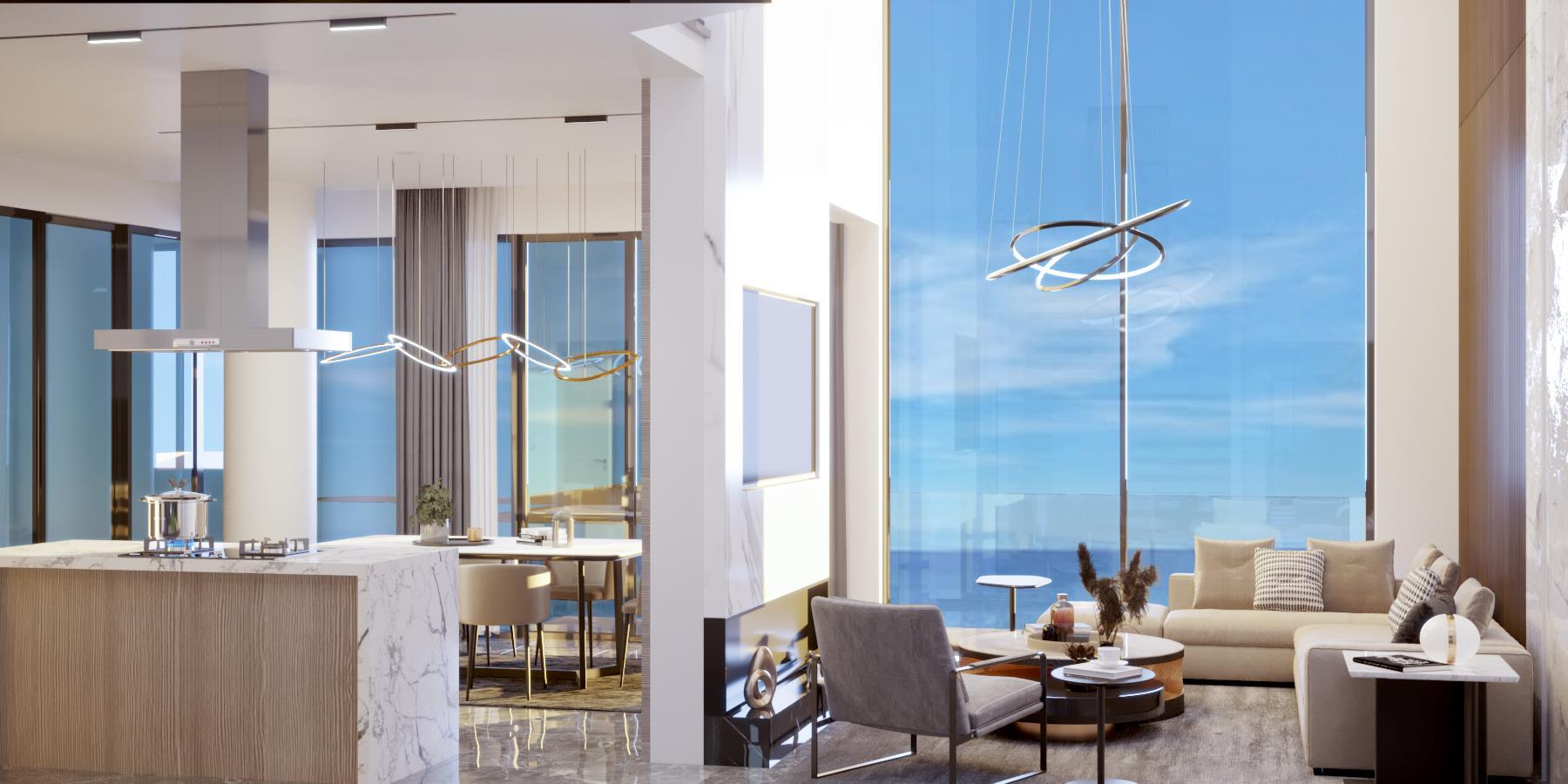 Luxury 3 bedroom resort-style loft apartment